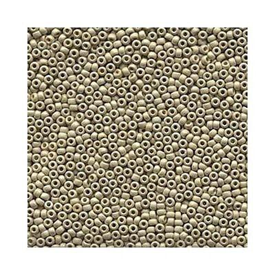 Miyuki Seed Beads 11/0 11-4201F Matte Duracoat Galvanized Silver Round Rocaille