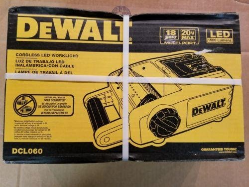 Dewalt 18v/20v Max Cordless Led Worklight DCL060