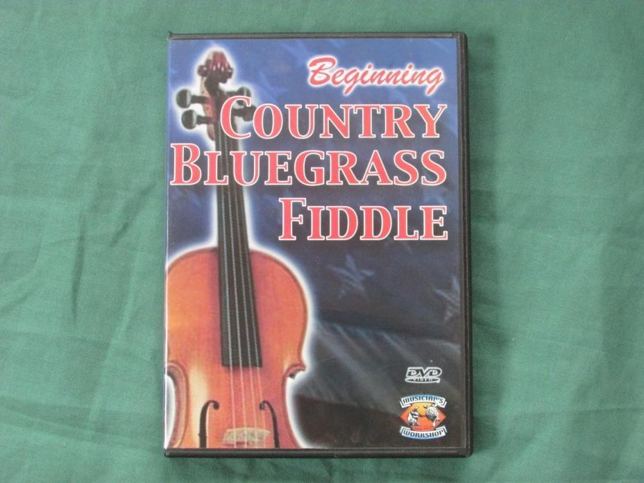 Beginning Country Bluegrass Fiddle DVD By Dan Huckabee