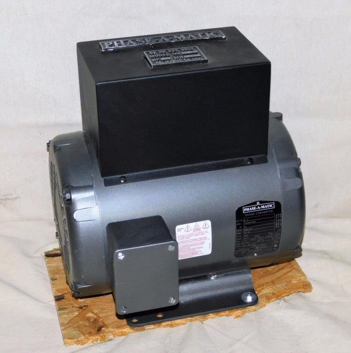 PHASE-A-MATIC R-10 Phase Converter Rotary 10 HP 208-240V