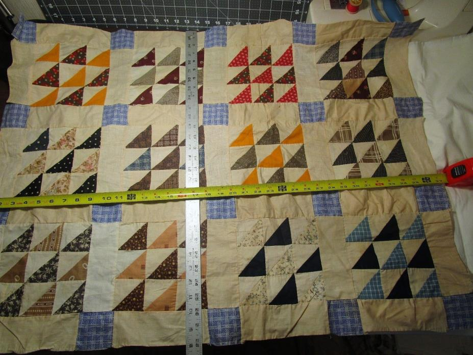 Antique Quilt Top remnant 37