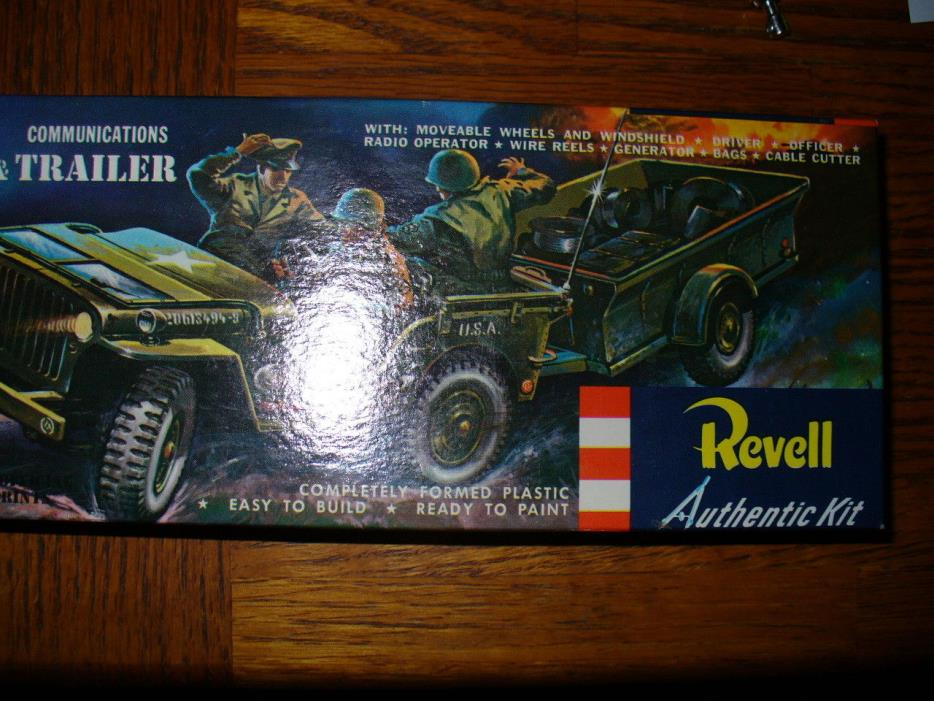 REVELL S KIT 1956 ISSUE KT# H525 79 1/40 SCALE COMPLTE