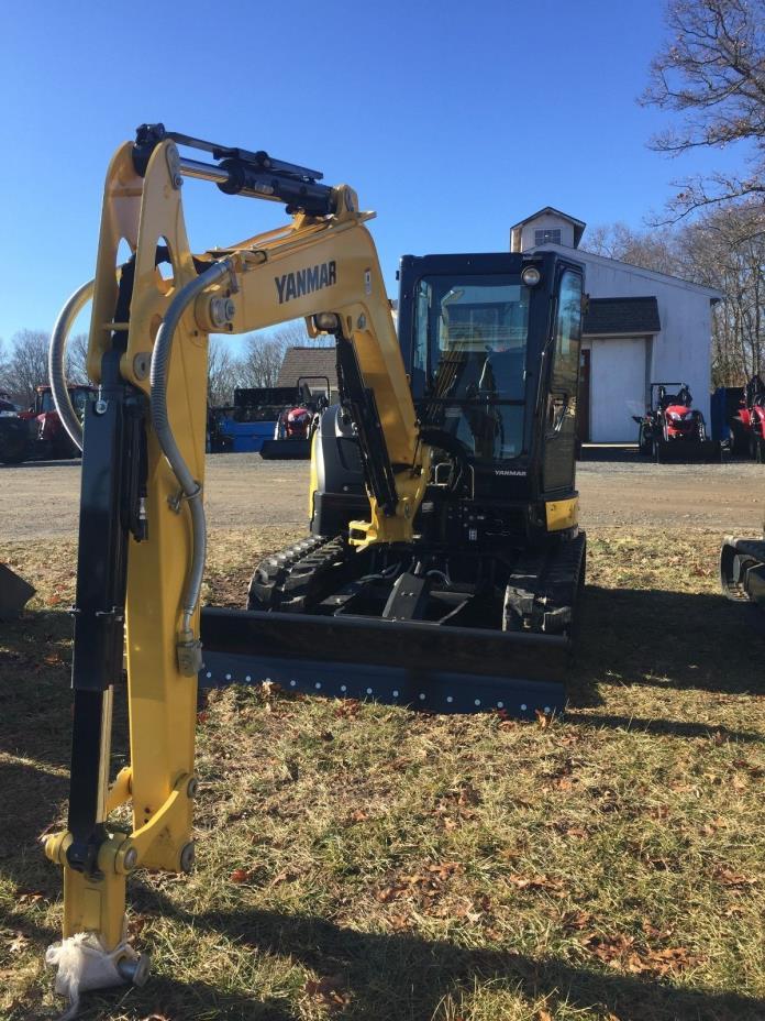 2017 Yanmar Vio55-6A Excavator