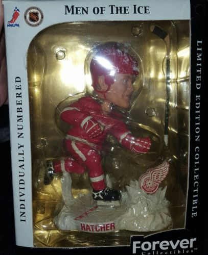 Detroit Red Wings Derian Hatcher Limited only 2,004 Men of the ice Bobblehead