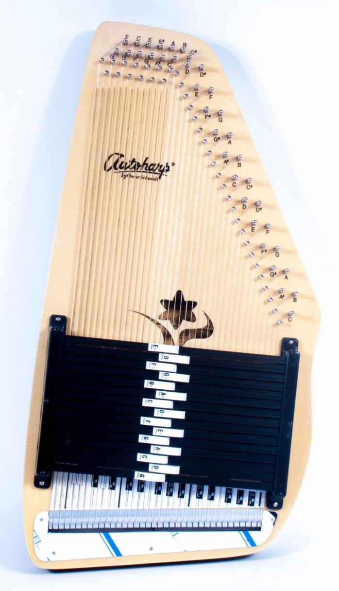Oscar Schmidt OS45B 15 Chord Appalachian Bluegrass Autoharp