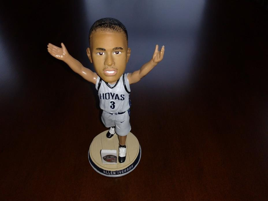 Allen Iverson Georgetown Limited Edition Hall of Fame Bobblehead