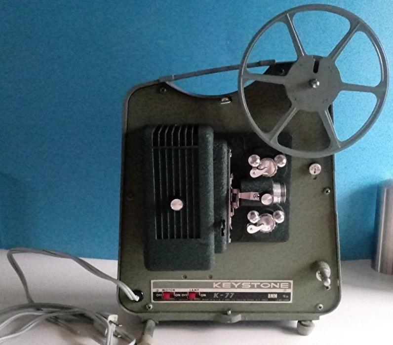 Vintage Keystone Model K-77 Automatic 8 mm Motion Picture Projector