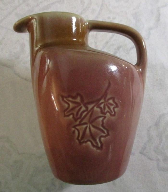 Vintage Maple Leaf Small pitcher Pink/ Maple Syrup pitcher
