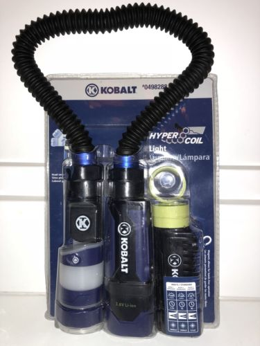 KOBALT HyperCoil #63453 Snake Work Light Rechargable Lithium Ion Battery