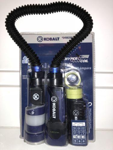 KOBALT HyperCoil #63453 Snake Work Light Rechargable Lithium Ion Battery