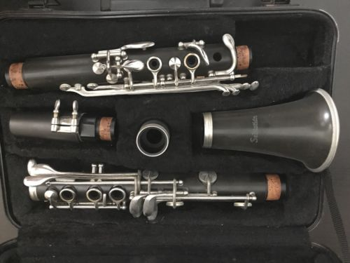 Clarinet Begginer Sebastian used