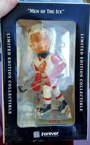 Detroit Red Wings Brett Hull Limited Numbered Men of the Ice Bobblehead