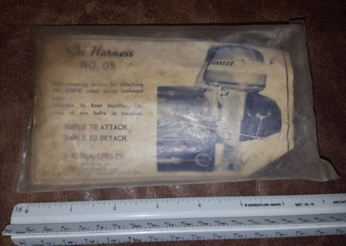 Vintage SKI rope Harness Water Sports boating collectible J R Plasters NOS