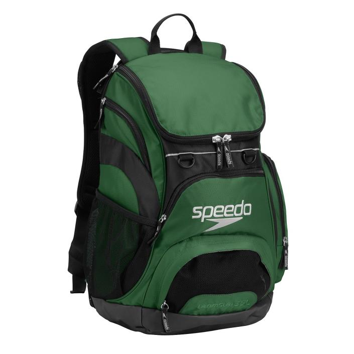 Speedo Teamster Swimming Backpack 35L Hunter Green