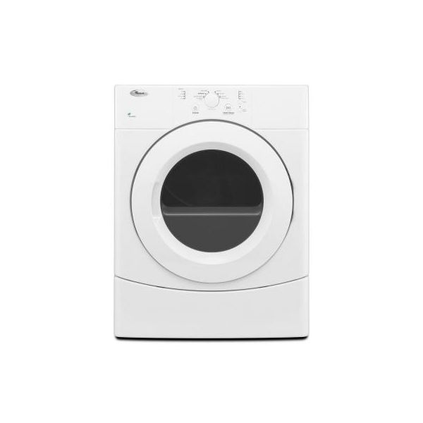 Whirlpool WED9051YW Electric Dryer White with AccuDry™ Drying System 6.7 cu. ft.