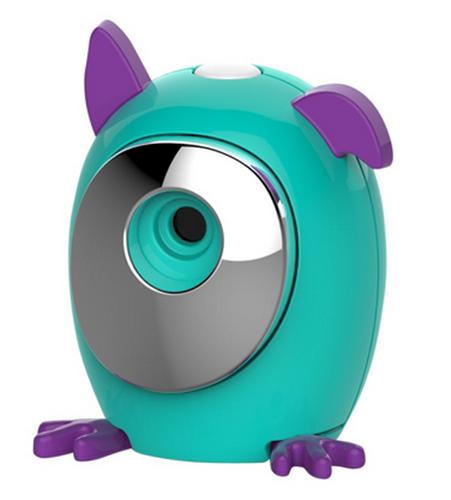 WowWee Selfies in a Snap! Snap Pets Portable Bluetooth Camera-Dog Aqua/Purple
