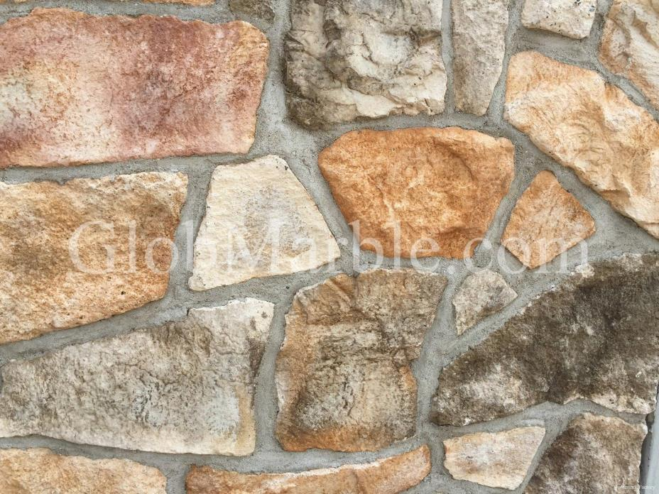 Concrete Stone Mold Ledgestone Mold LS 2001/5 Concrete Outside Wall Mould