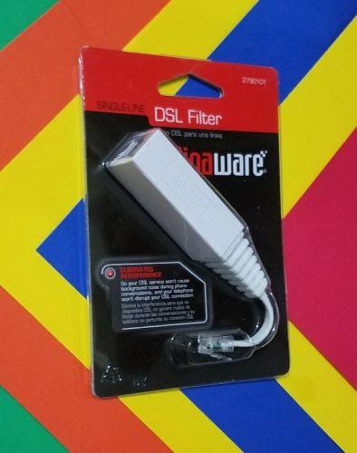 RadioShack gigaware SINGLE-LINE DSL FILTER Catalog #: 2790101