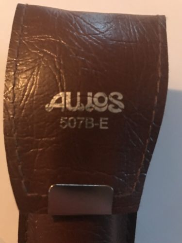 New Unused Aulos Alto 509b E Recorder with Case