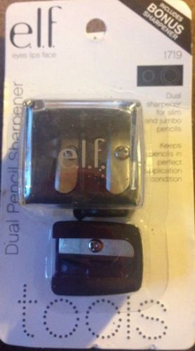 ELF DUAL PENCIL SHARPENER 1719 FREE SHIPPING Multiple Stickers On Package