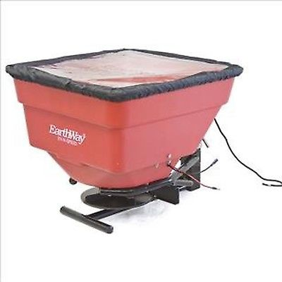 EarthWay M21P Commercial 12-Volt 100lb Ice Melt Sand Salt Snow De-Icers Seed ...