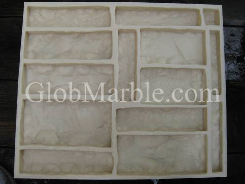 Concrete Mold. Castle Rock Veneer Stone Mold CS 3001/1. Concrete Stone Mould
