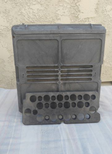US Military Ammo Box w/ Projectile Trays