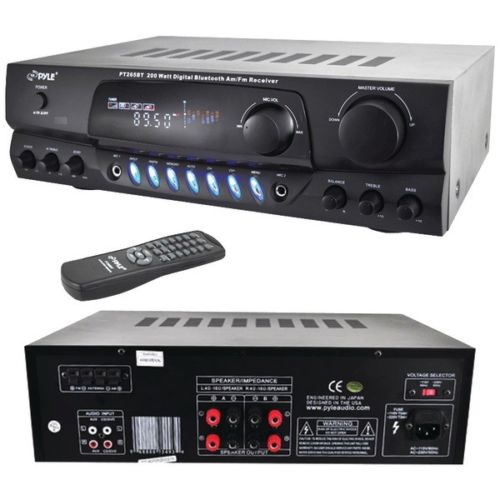 PT265BT AM/FM Receiver