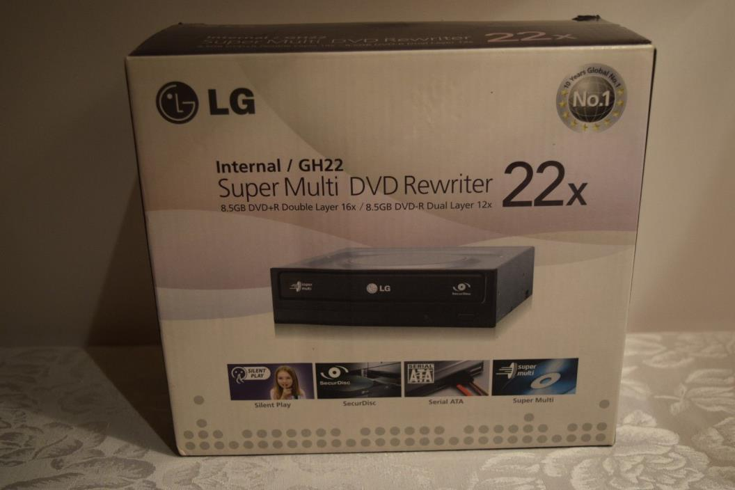 LG Internal GH22 Super Multi DVD Rewriter 22X 8.5 GB