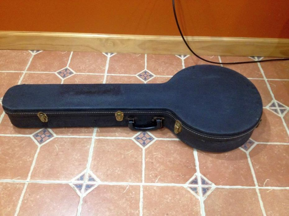 Gibson Lifton RB-250 5 string banjo case banjo case from late 50s early 60s