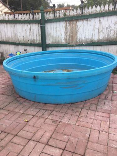 Behlen Country 8' Poly Stock Tank, Blue