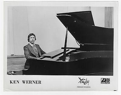 KENNY WERNER / Promo 8x10 Inch Glossy Photo - FINNADAR 1978 !!