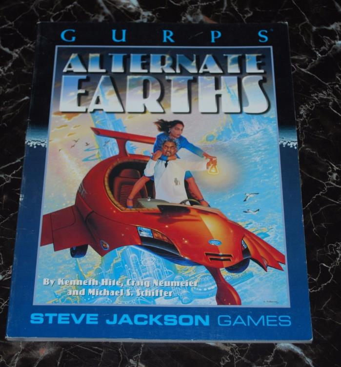 GURPS Alternate Earth  SJG