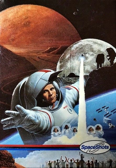 Space Shots Moon Mars 36 Card Special Edition 1991 Space Ventures FREE SHIPPING!