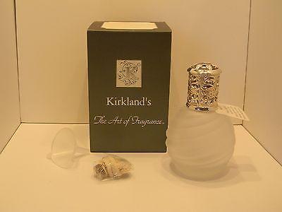 Kirkland's The Art of Fragrance Decorative Catalytic Frosted Glass Oil Burner