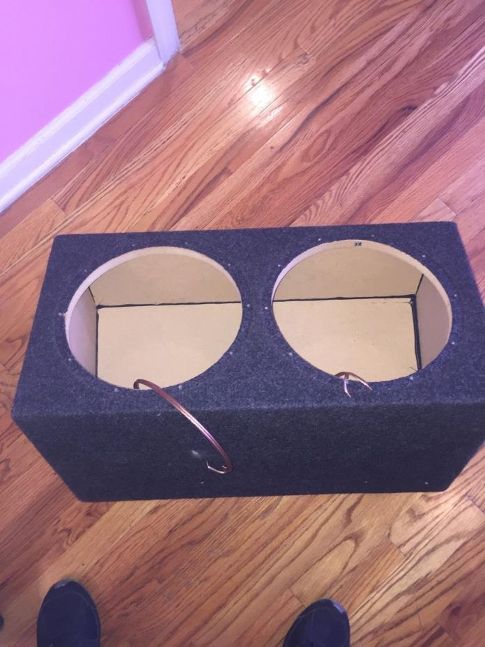 "Jl audio 12"" Subwoofer Box Enclosure"