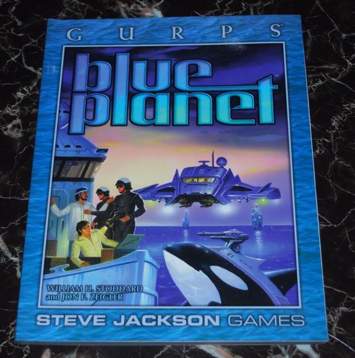 GURPS Blue Planet  SJG