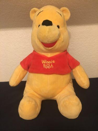 Walt Disney World Winnie the Pooh Plush Stuffed Animal