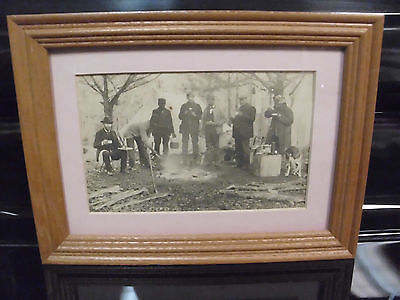 OCCUPATIONAL HUNTING african american black americana photo antique vintage
