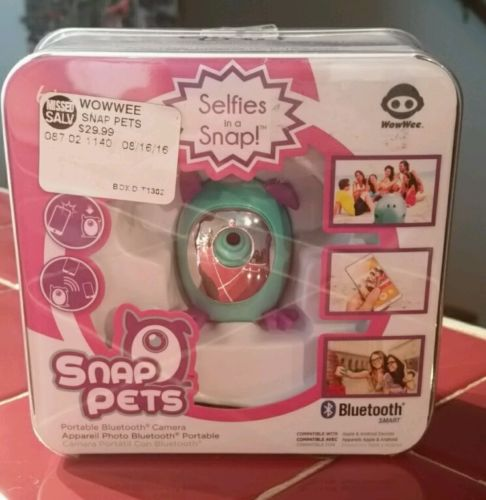 WowWee Snap Pets Portable Bluetooth Camera