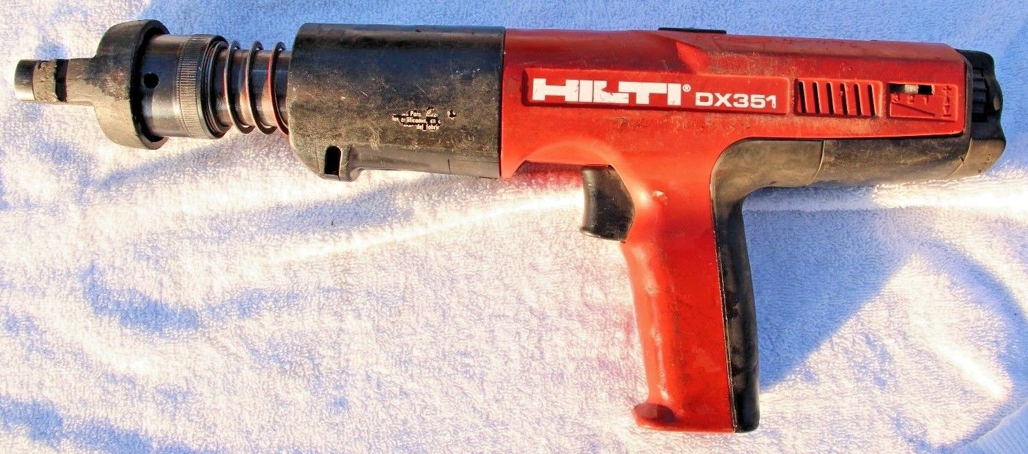 Hilti DX 351 Powder Actuated Tool!! FREE SHIP!!