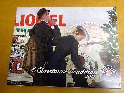 Lionel Trains  Catalog  2011 A Christmas Tradition Edition