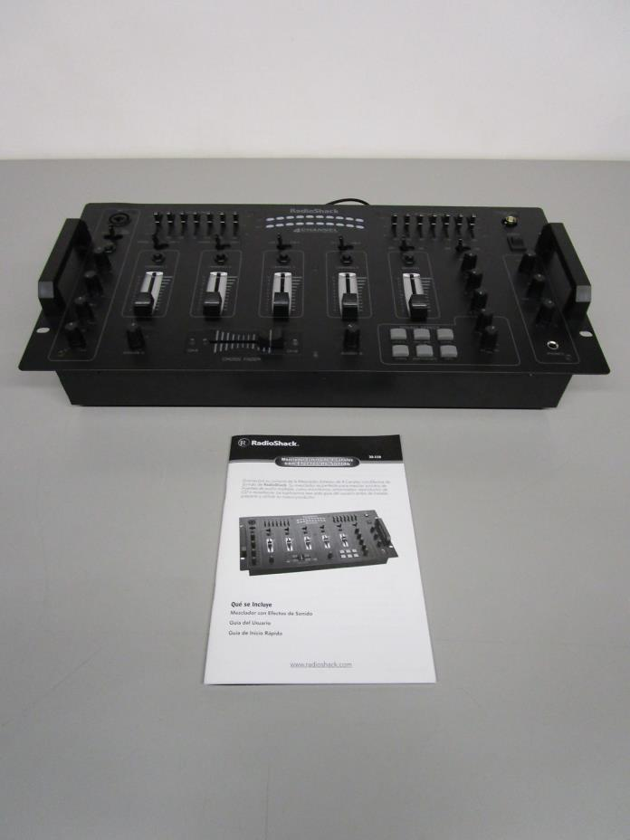 RadioShack Stereo 4-Channel Mixer with Sound Effects
