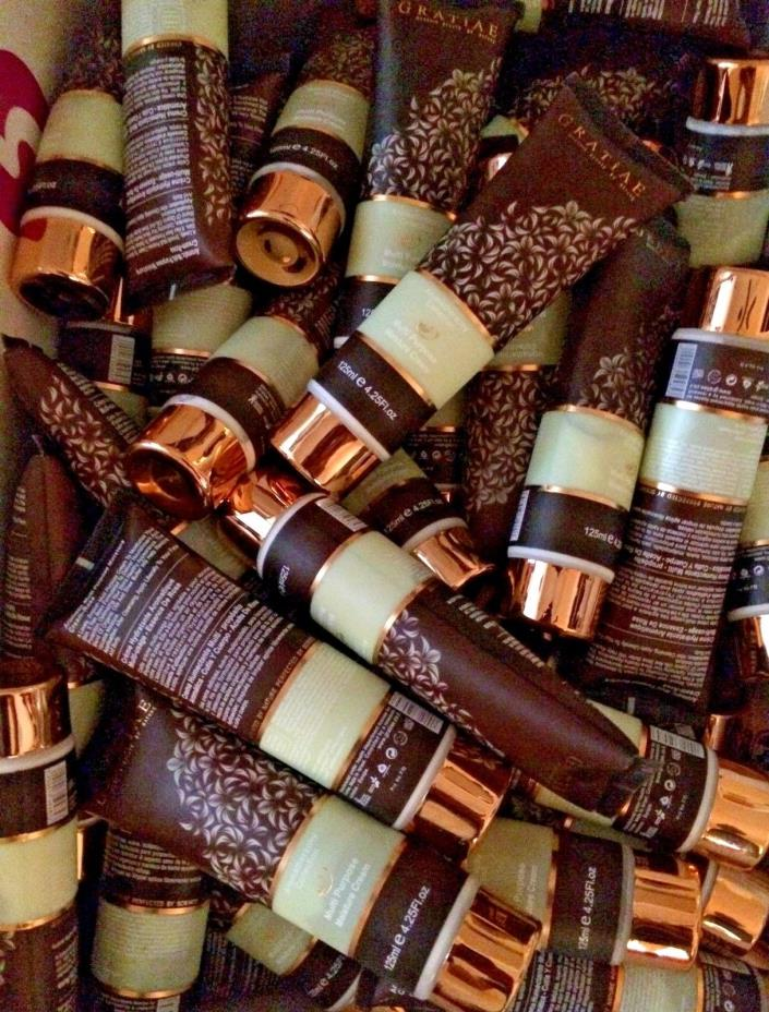 Wholesale Lot 85 Gratiae Organics Moisture Cream Aromatherapy Sealed - Read