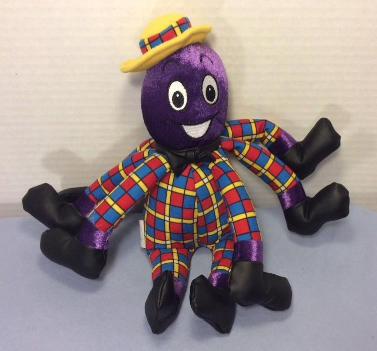 The Wiggles Henry The Octopus Singing Plush Toy Spin Master 2003