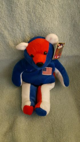 Beanie baby Salvino bammers #25 McGuire  collectible beanie baby style