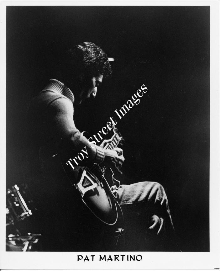 Orig 8x10 promo photo #4 of jazz guitarist & composer PAT MARTINO, mid 1970s