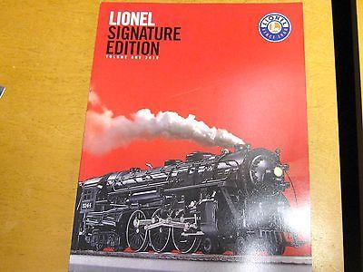 Lionel Trains Signature Edition Catalog Model Railroad Book 2010 Volume 1