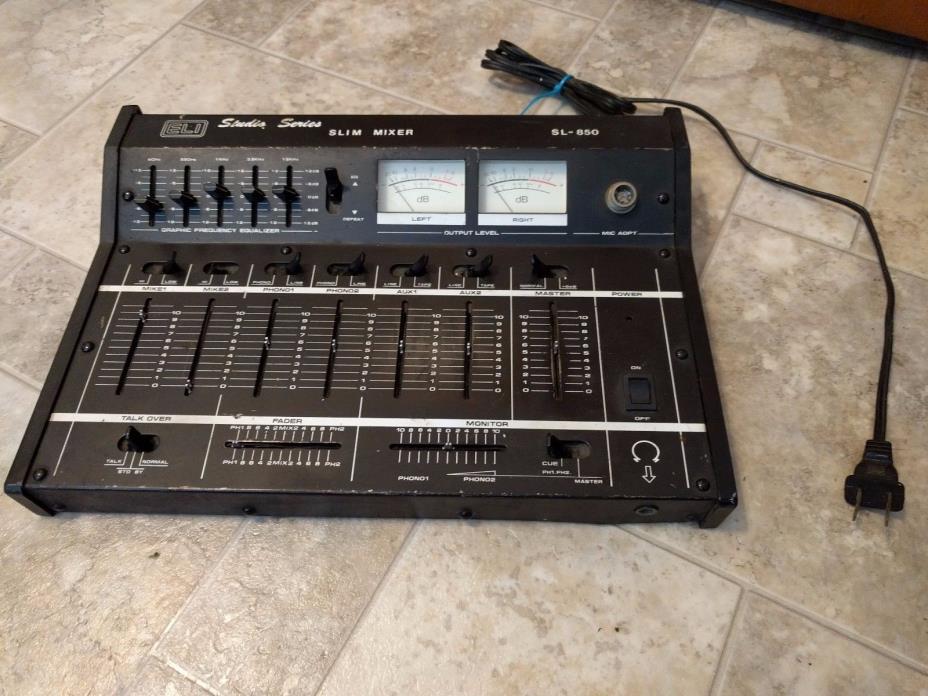 Eli Studio Sound Slim Mixer SL-850 with Equalizer