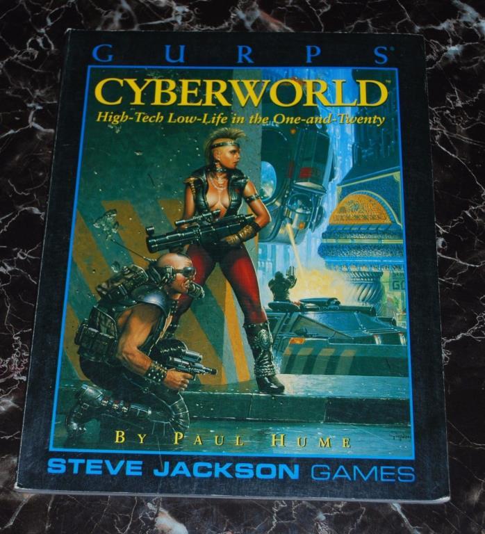 GURPS Cyberworld  SJG